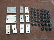 1930-1931 Model A Door Hinges Hardware Kit